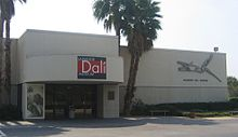Original Dali museum building in 1982