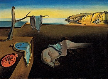 An example of Dali's work: The Persistence of Memory (1931)