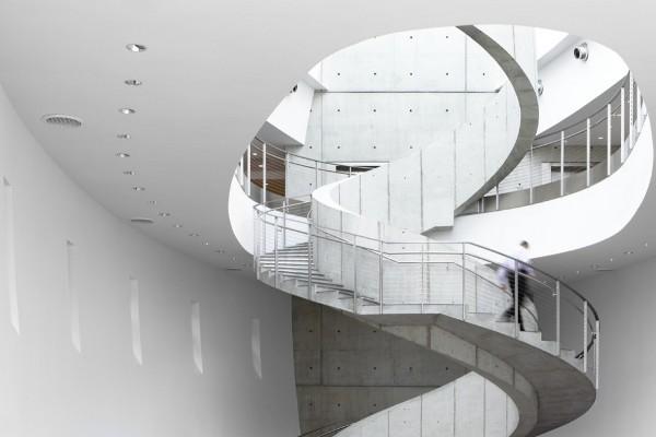 Interior staircase.