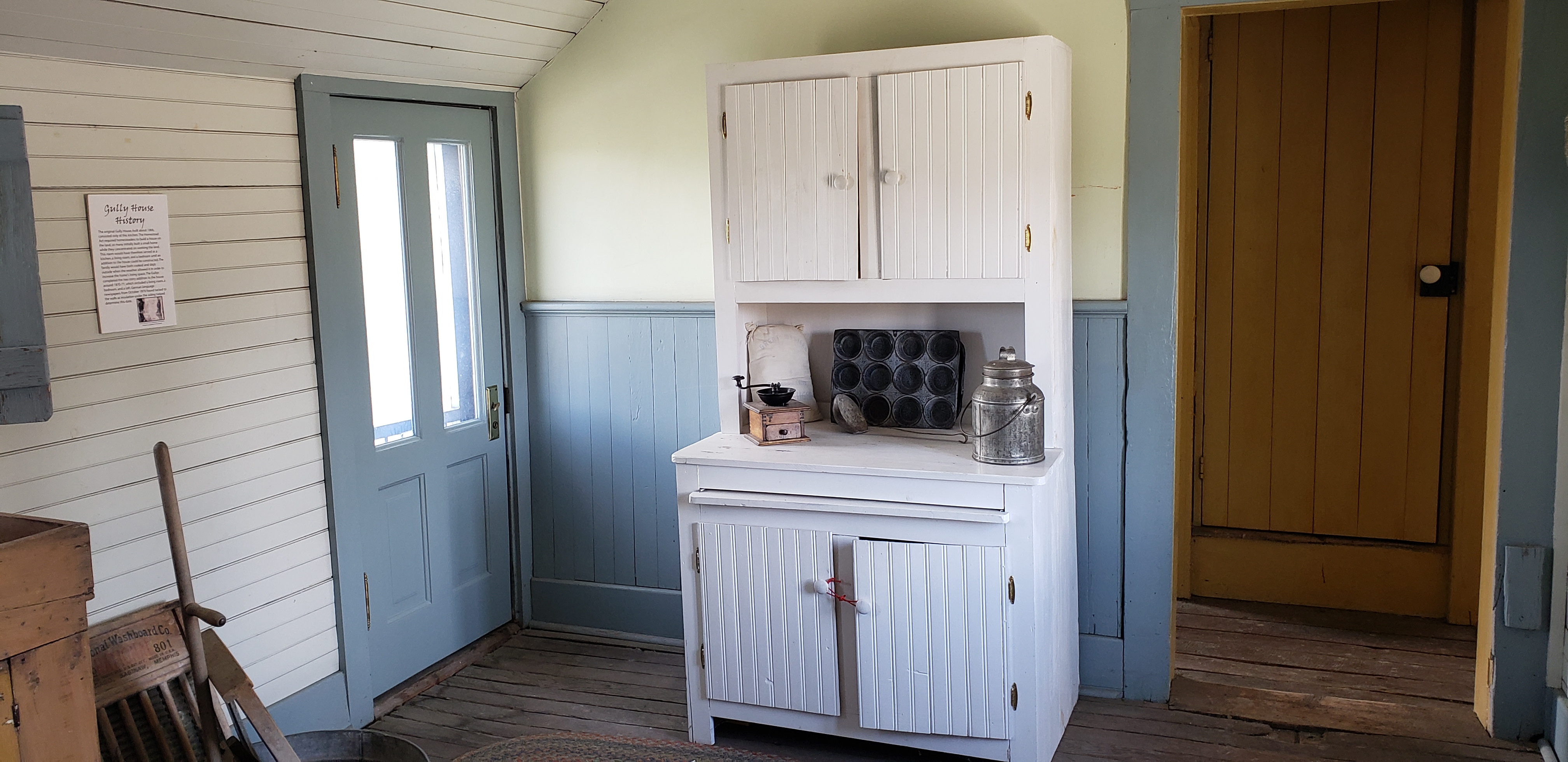 Kitchen of Gully Homestead House