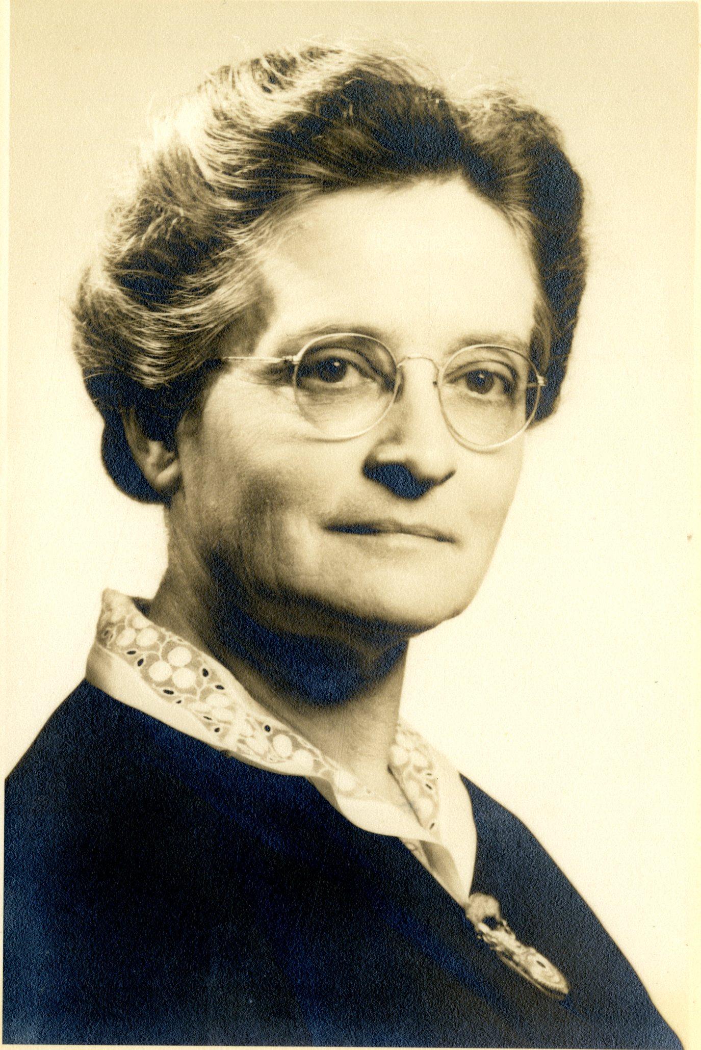 Corrina Lowe Condrick, circa 1950.