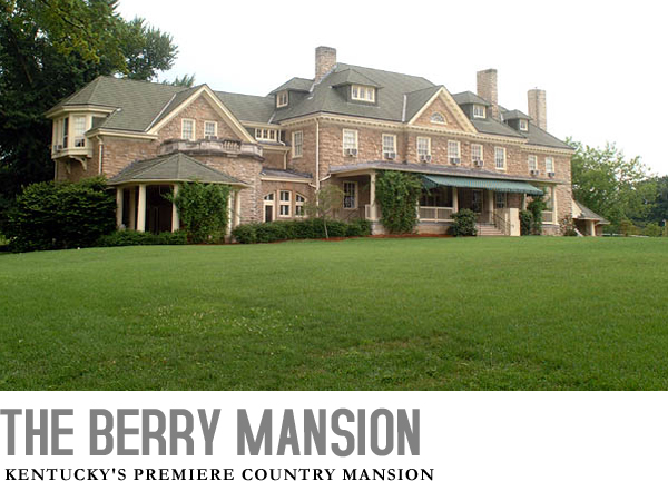 The Berry Mansion is owned by the Commonwealth of Kentucky and houses state offices and is used for meetings and special events.
