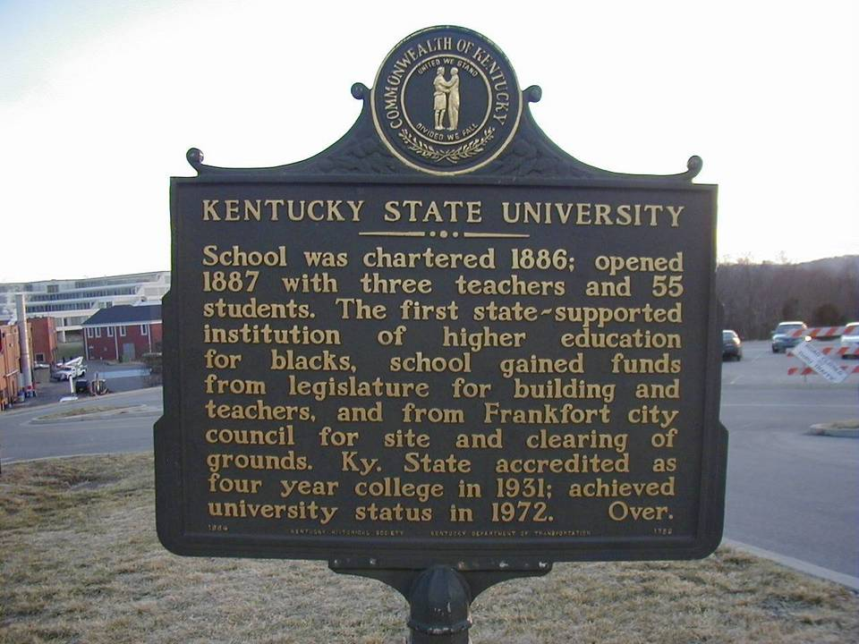 Kentucky State University was charted in 1886.