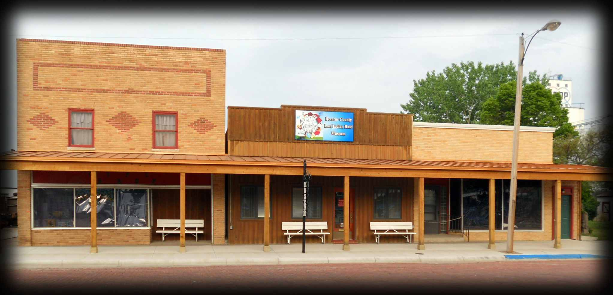 The Decatur County Last Indian Raid Museum in beautiful downtown Oberlin, Kansas