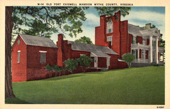 Fort Chiswell Mansion image from the official web site