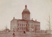 First state capitol, 1868