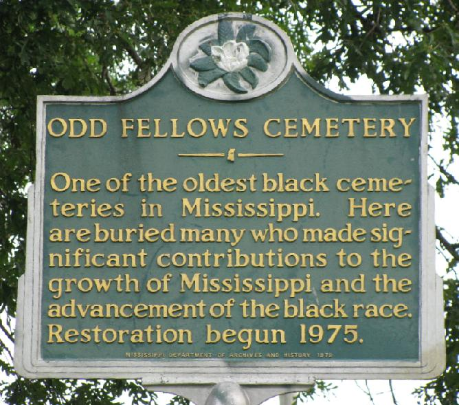 Odd Fellows Cemetery was the 2nd black cemetery in that city, added to National Register of Historic Places.