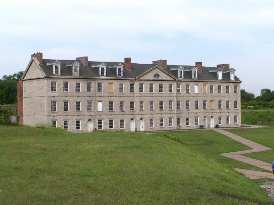 Original 1848 barracks