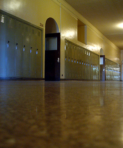 The halls of East High School as they appear today. Photo by NegesoMuso. Licensed under Creative Commons.
