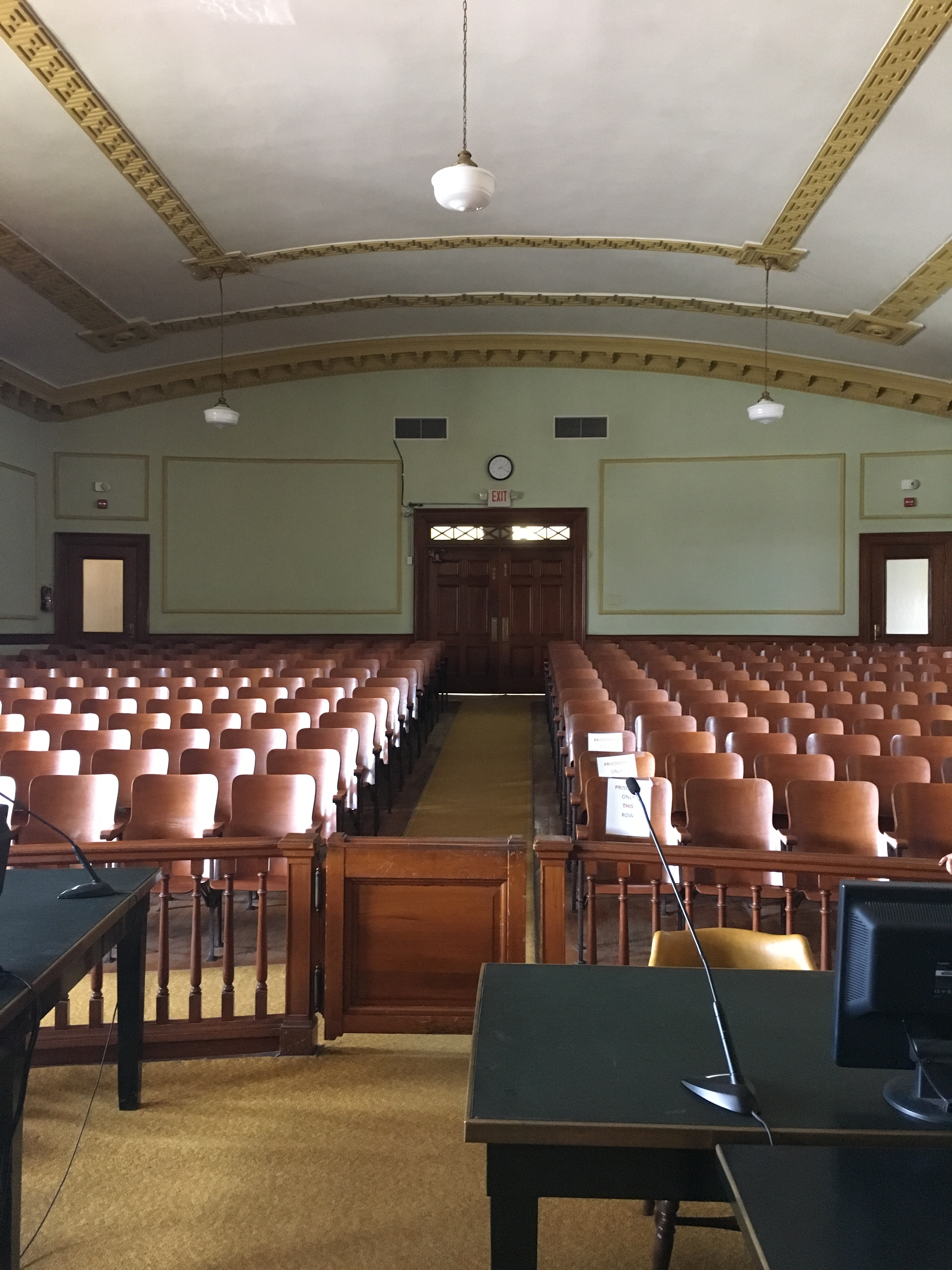 Present Day-Tyler County Courtroom
