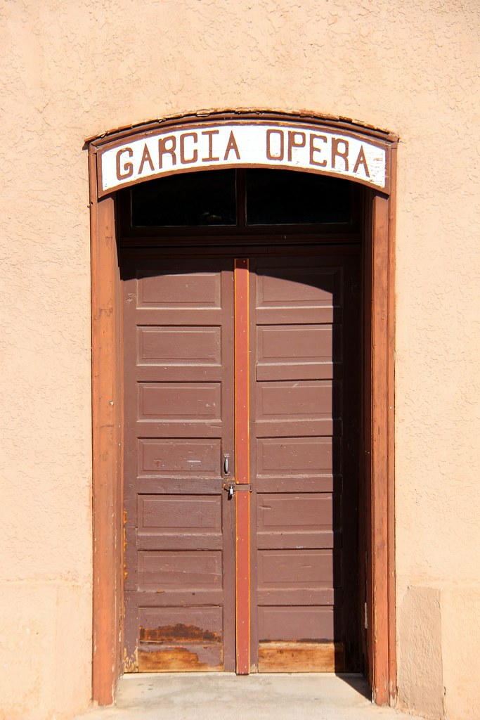 Entering into History: The Garcia Opera House Door
