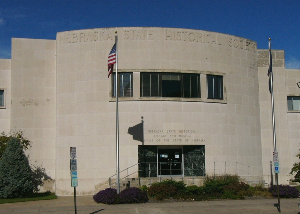 NSHS Headquarters, home of the state research library