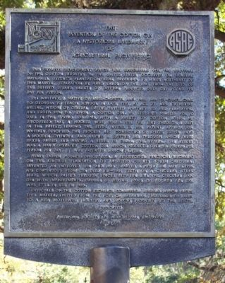 This historical marker was dedicated in 1986.