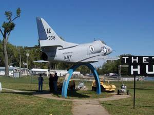The Douglas A-4D Skyhawk