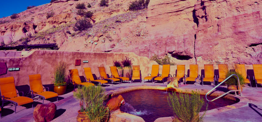 Swim in Style: One of the Many Pools at the Springs