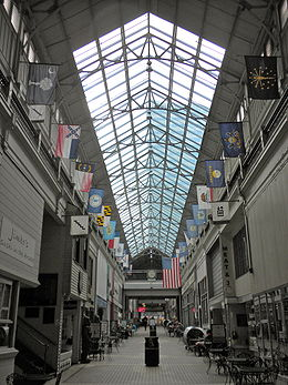 The Nashville Arcade (image from Wikimedia)
