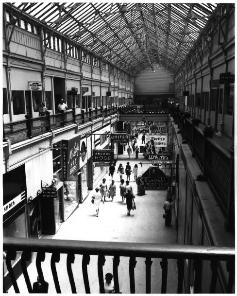 The same view in 1972 (image from the National Register of Historic Places)