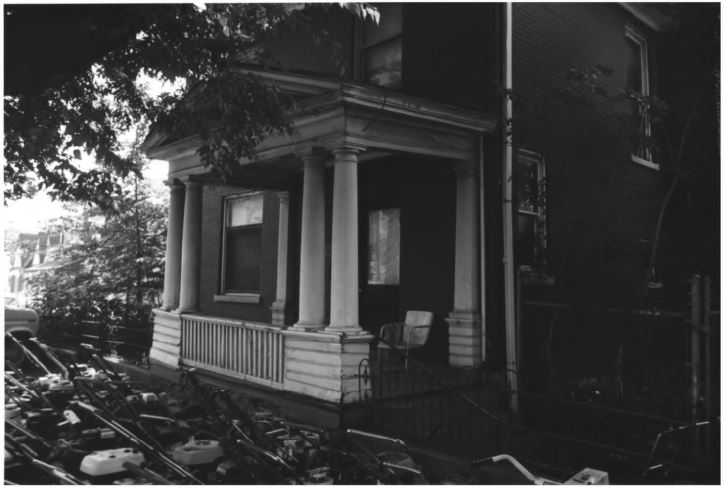 The second histori house on the John Geist property (image from the National Register of Historic Places)