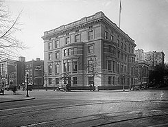 1922 photo of the club. Courtesy of the Library of Congress