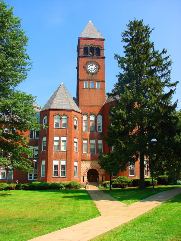 Old Main, Slippery Rock University