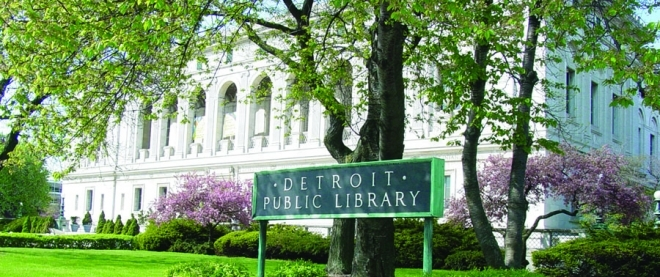 Detroit Public Library's main branch
