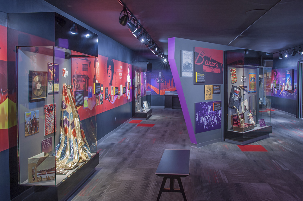 """Kid Rock's Music Lab"" exhibit, telling the story of Detroit's famous music scene, from gospel to Motown and beyond"