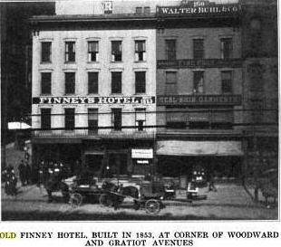 The Finney Hotel (image from Genealogy Trails)
