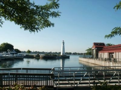 Milliken State Park Harbor (image from Detroit Riverfront Conservancy)
