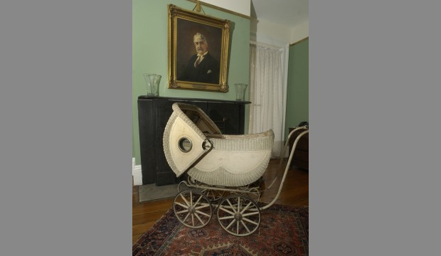 Mary Flannery's baby carriage