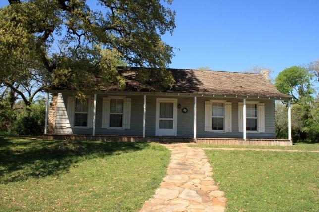 Van Zandt Cottage Today.