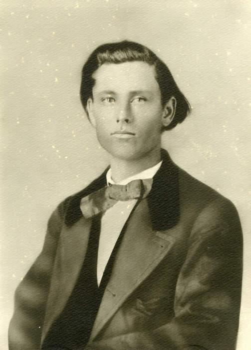 Photo of K.M. Van Zandt during the Civil War.