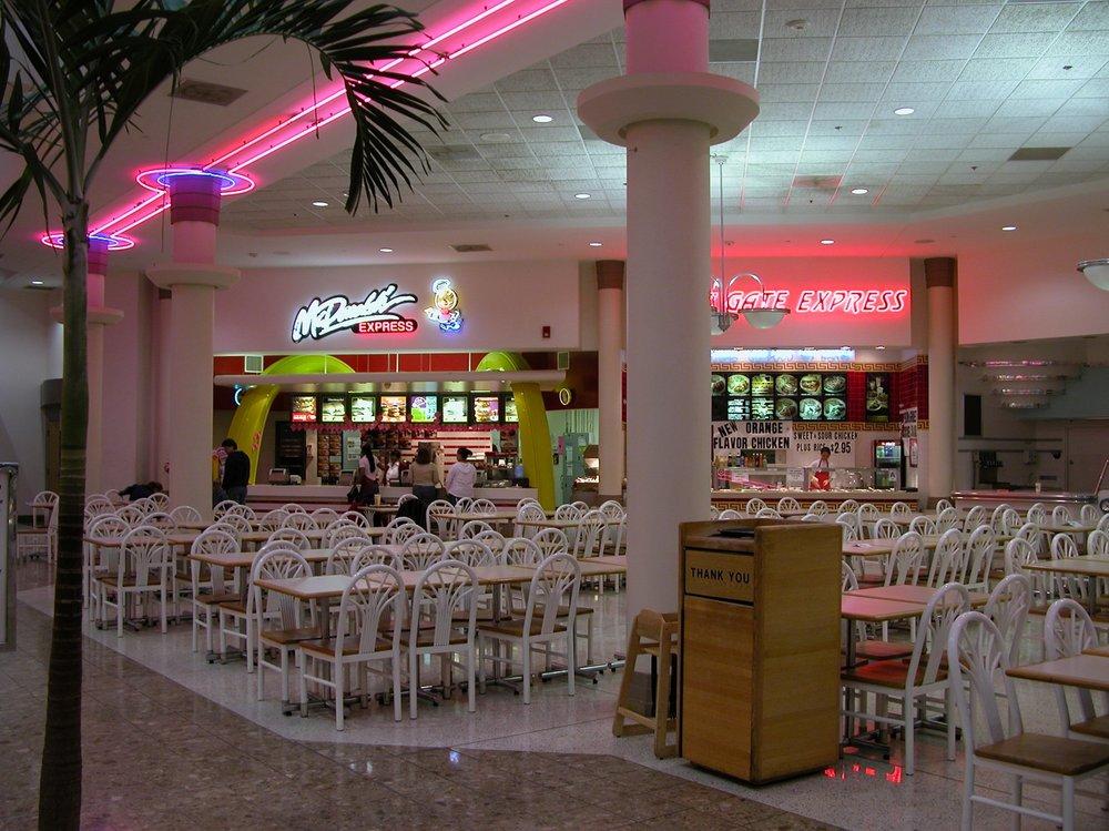 Food Court at Jamestown Mall - Florissant, Missouri, 1998