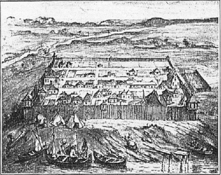 Fort Pontchartrain du Detroit was constructed in 1701