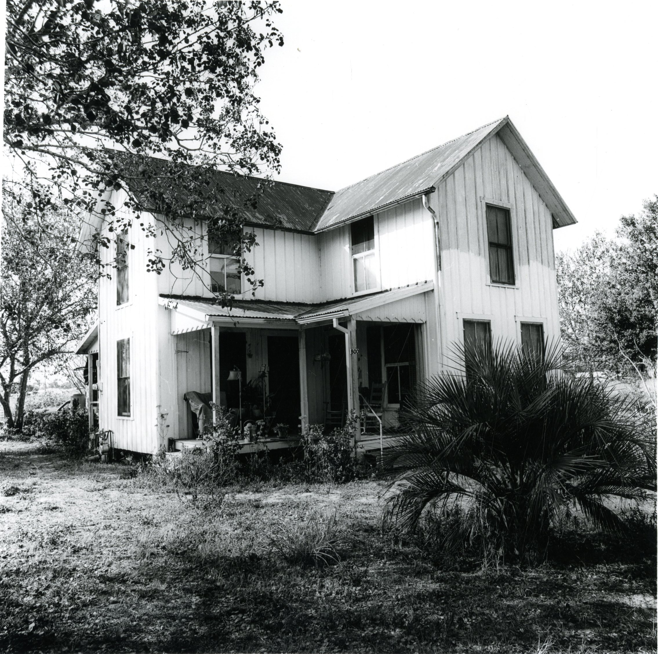 Lowe House on original site, Anona, Florida, circa 1930.