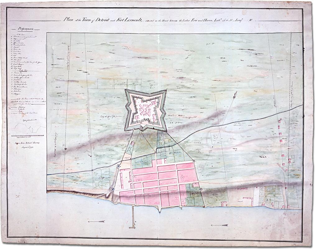 Detroit in 1792