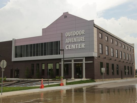 The Outdoor Adventure Center (image from Detroit Free Press).