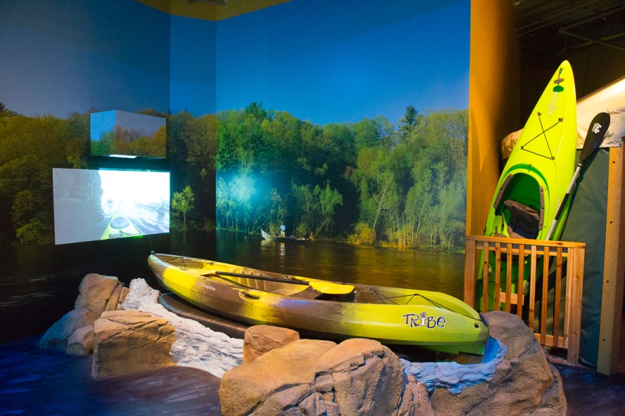 The OAC Kayaking simulator (image from OAC).
