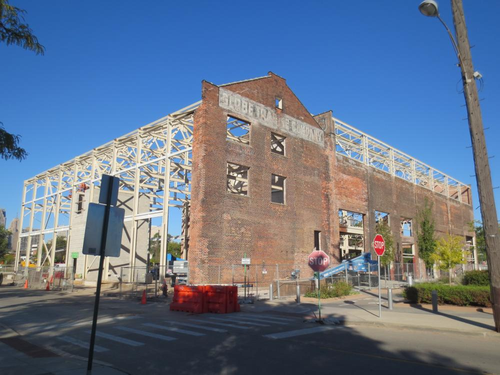 The building prior to restoration in 2013 (image from Denver Riverfront Conservation).