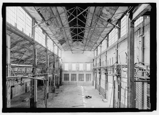 Interior, HABS survey (image from the Historic American Building Survey).