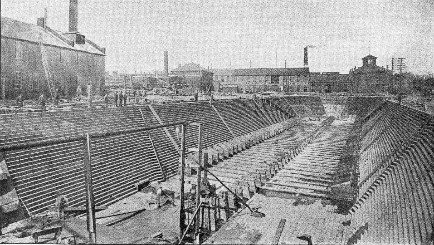 Detroit Dry Dock #2 in 1892 (image from Wikimedia Commons).