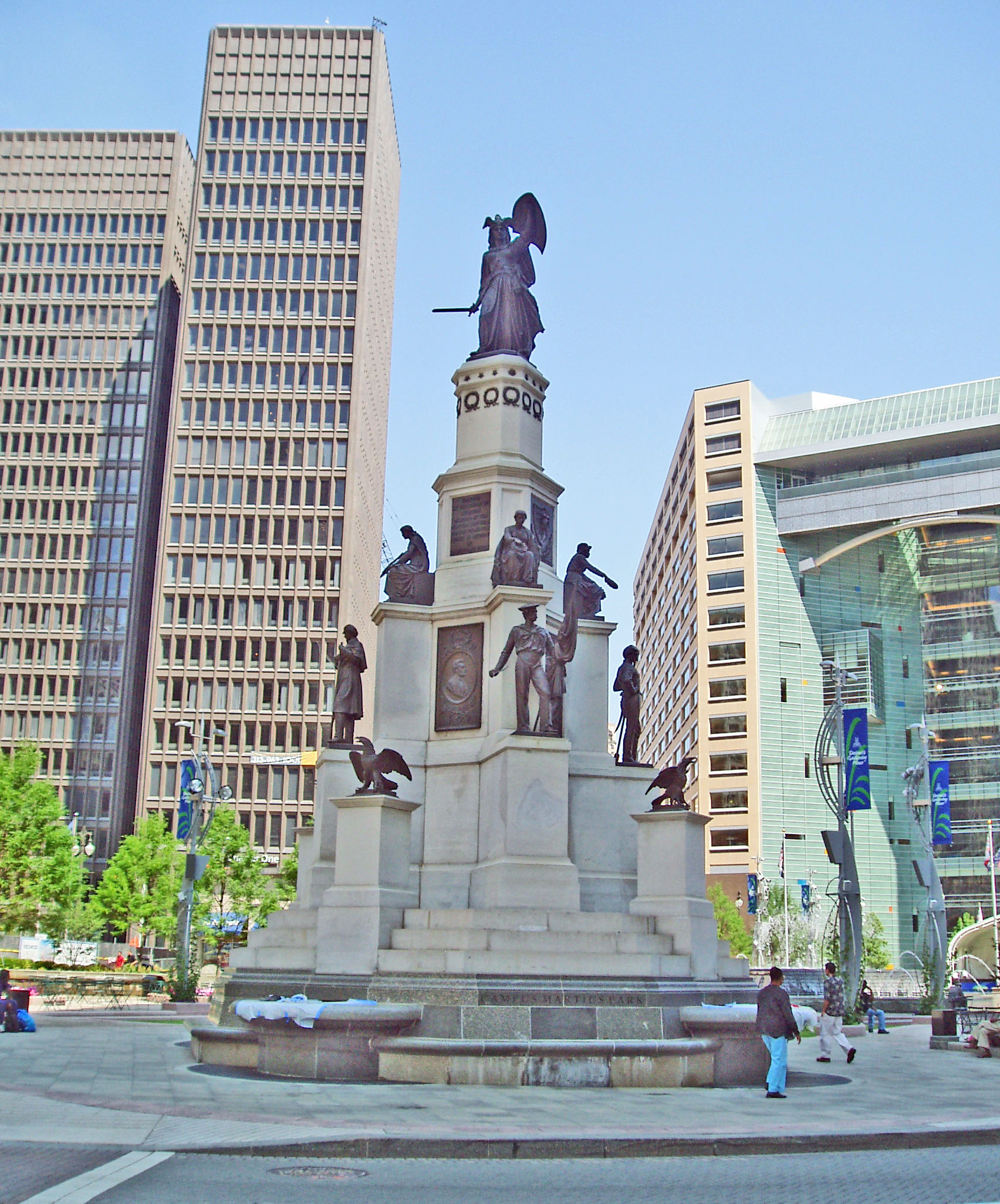 Soldiers and Sailors Monument (image from Detroit: The History and Future of the Motor City)