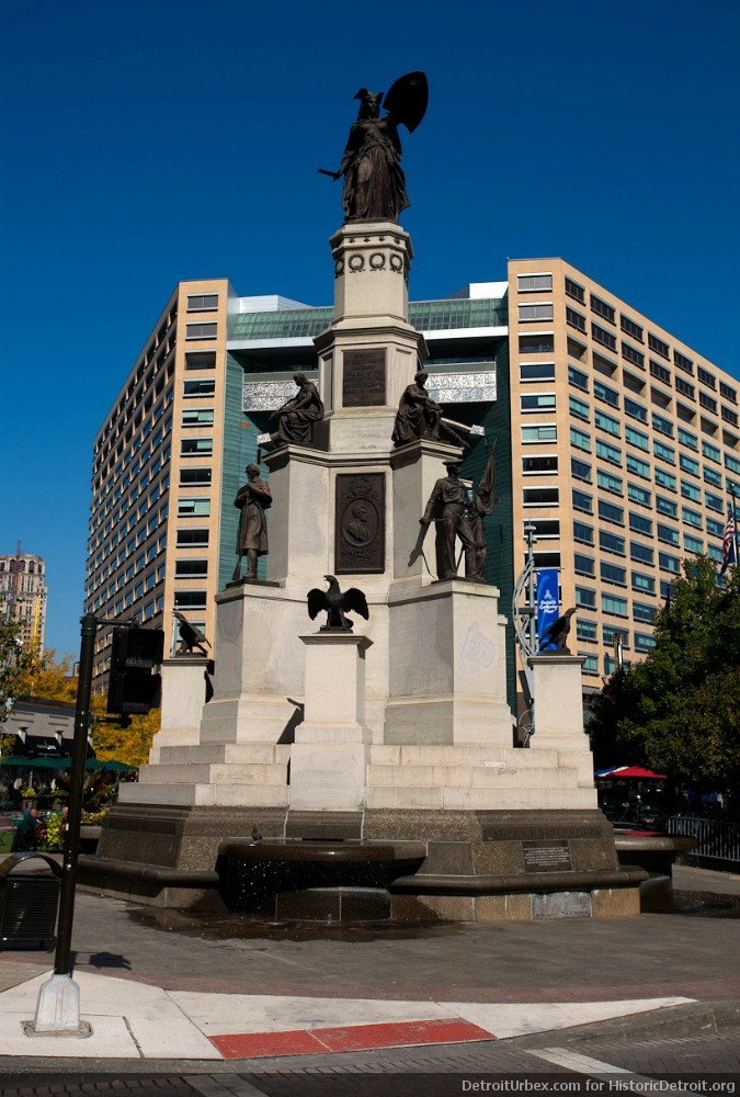 Soldiers and Sailors Monument (image from Historic Detroit)