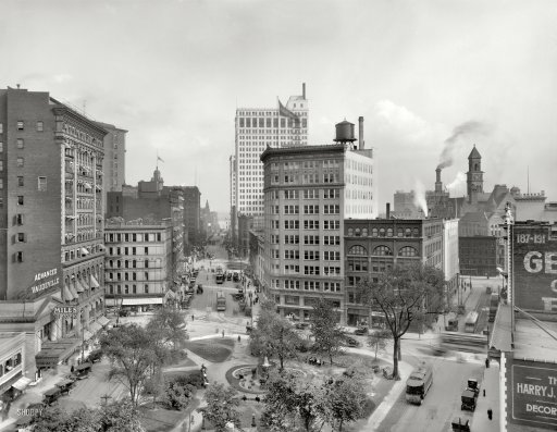 Capitol Park in the 1910s