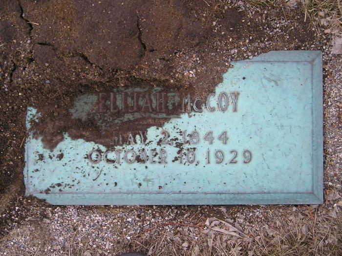 McCoy's gravesite