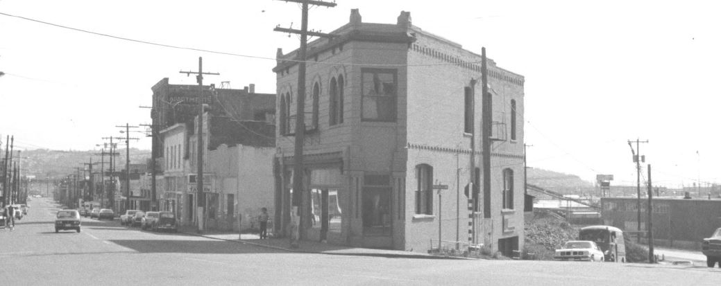 Ballard Avenue Historic District in 1976 (image from the National Register of Historic Places)