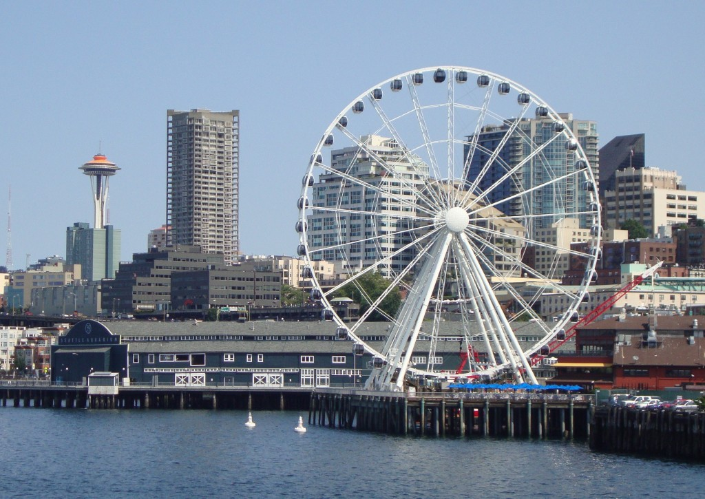 Seattle Great Wheel at Pier 57 (image from Hotspots Seattle)