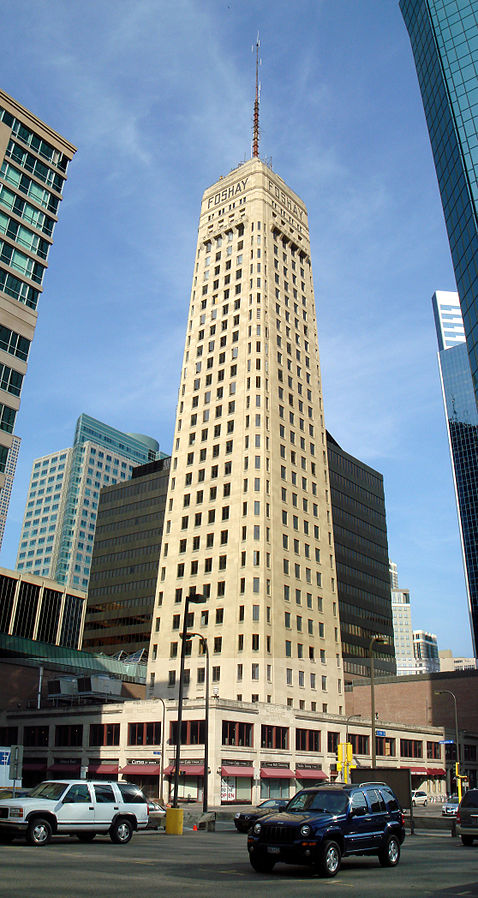 Foshay Tower was listed on the National Register of Historic Places in 1978