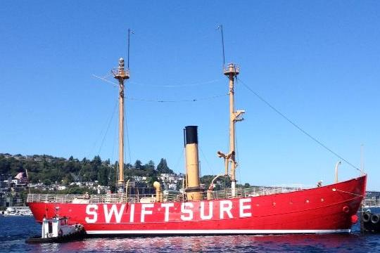 The restored Swiftsure (image from Northwest Seaport)