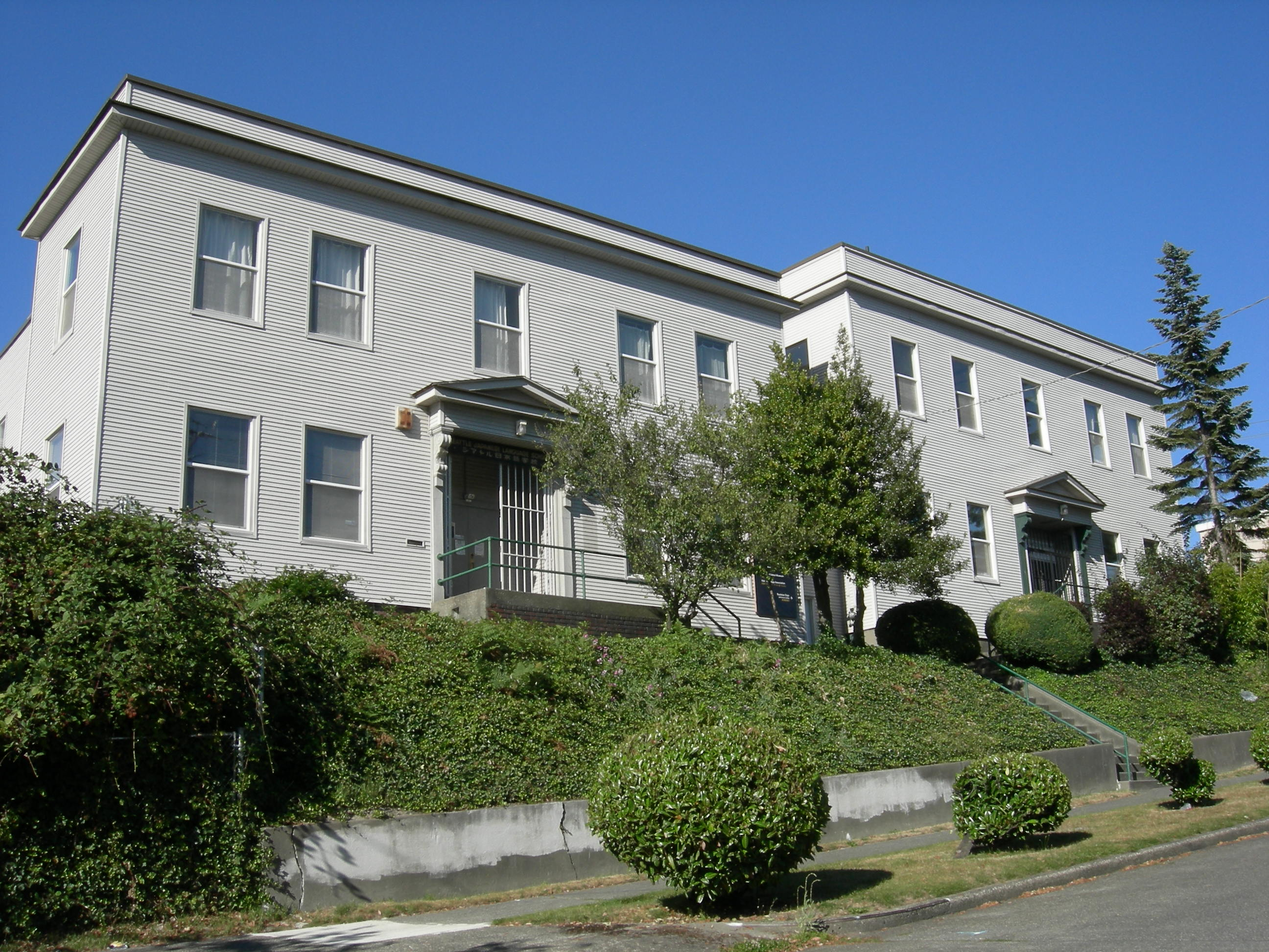 Nihon Go Gakko (Japanese Language School) building, now home to the Japanese Cultural and Community Center of Washington (image from Wikimedia)