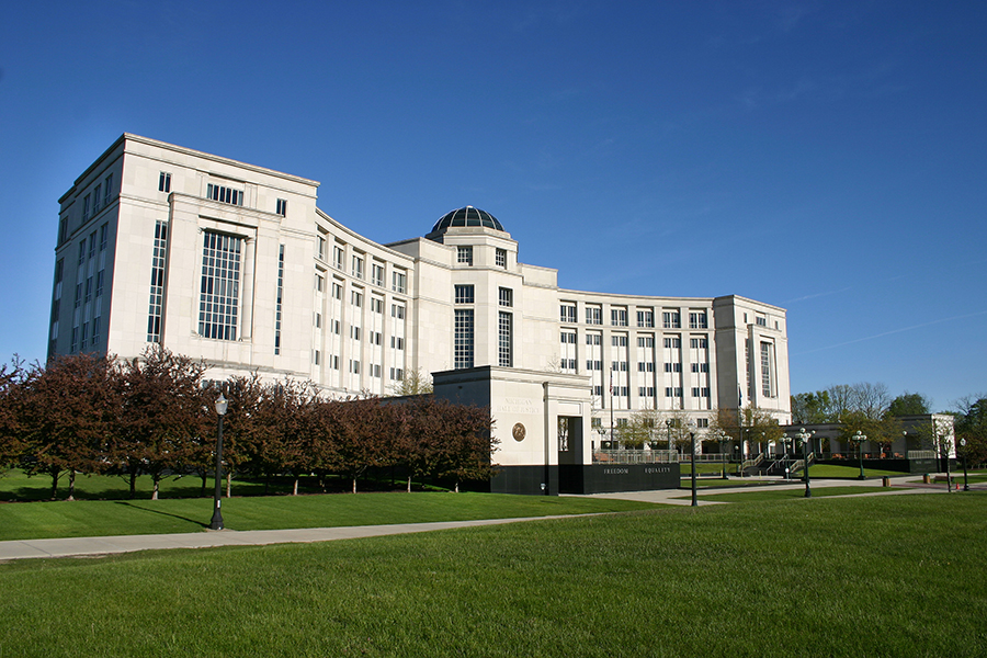 Michigan Hall of Justice, headquarters of the state's judicial branch of government